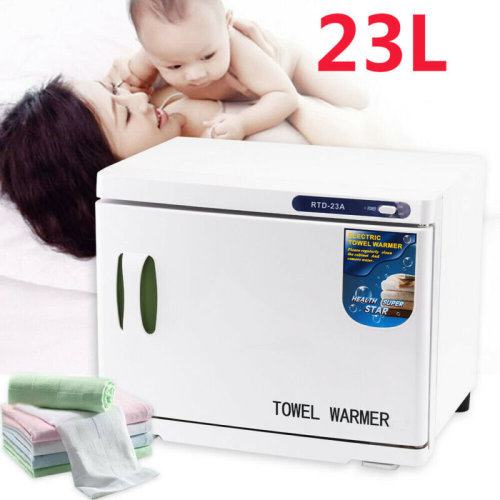 New HOT 23L UV Towel Sterilizer Cabinet Disinfection Heater