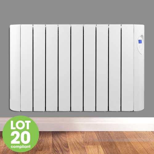 Oil Filled Electric Radiator 1800W 24/7 Timer Energy Efficient Futura