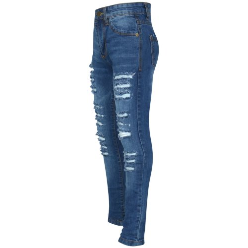 Ripped skinny kids' jeggings, compare prices and buy online