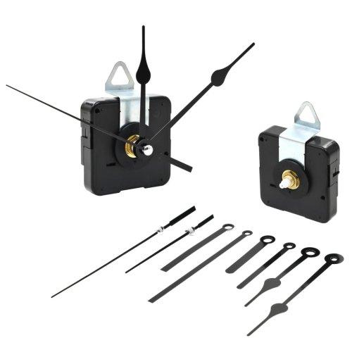 vidaXL Quartz Clock Movement with Pointers Mechanism Motor Fitting Repair