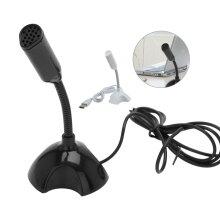 Adjustable USB Mini Desktop Microphone Laptop
