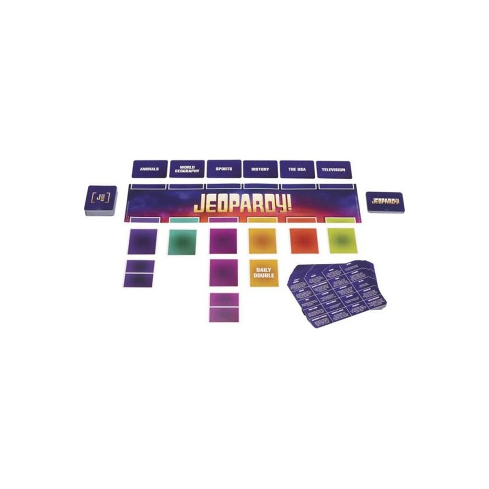 Mattel 232569 Jeopardy Card Game