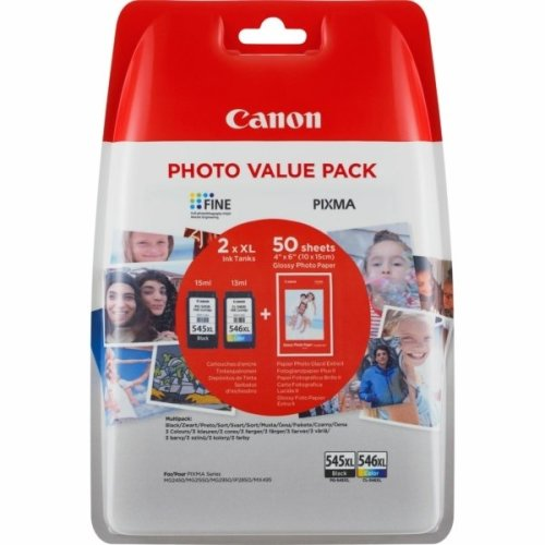 Canon 8286B006 (PG-545 CL 546) Printhead multi pack, Pack qty 2