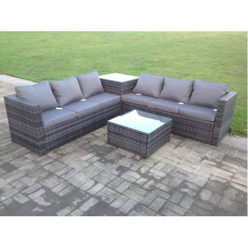 Better Homes And Gardens Replacement Cushions Azalea Ridge, Fimous 6 Seater Rattan Garden Corner Sofa Set On Onbuy