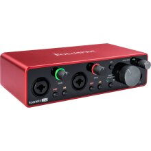 Focusrite Scarlett 2i2 2x2 USB Audio Interface (3rd Generation)