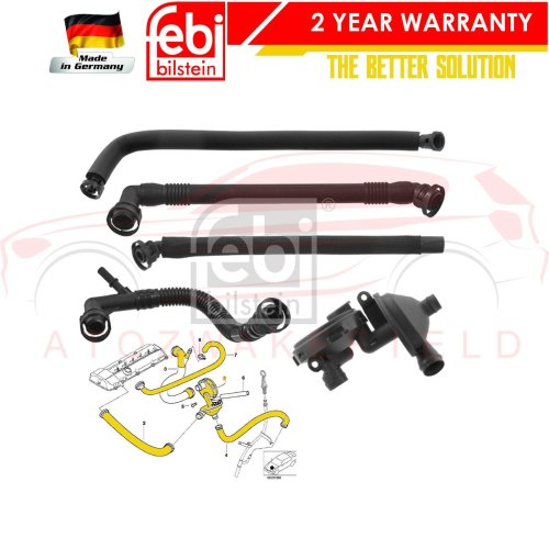 Engine Crankcase Breather Hose for BMW X3 X5 Z3 3 5 Series