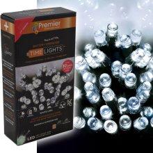Premier 400 Outdoor LED Christmas Lights   White Fairy Lights