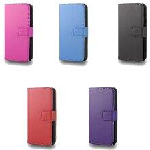 GadgetinBox - PU Leather Flip Case For Samsung Galaxy S3 Mini