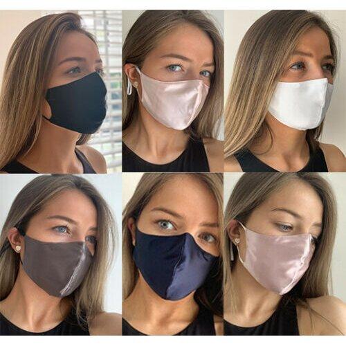 Reusable Adjustable Mulberry Silk face mask
