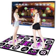 Dance Mat for Kids Adults, Double User Wireless Dancer Step Pads Non-Slip Sense Game Dancing Mats TV Computer Dual-use D