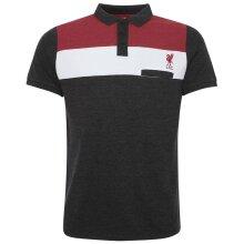 Liverpool FC Mens Colour Block Polo Shirt