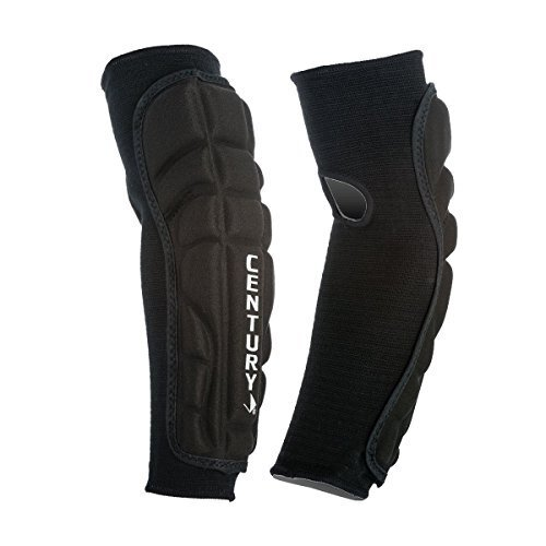 century Armor Forearm Elbow guard (Black, X-Large)
