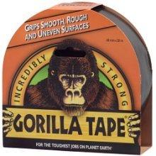 32m Gorilla Adhesive Tape - Glue x Duct 48mm Black Strong -  gorilla tape 32m glue x duct 48mm black strong
