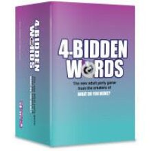 4 Bidden Words Adult Party Game