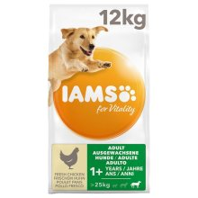 IAMS for Vitality Adult Large Dog Food Chicken 12kg