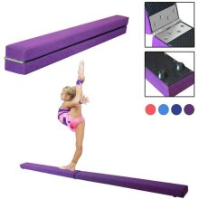 Dripex 7FT Folding Gymnastics Balance Beam