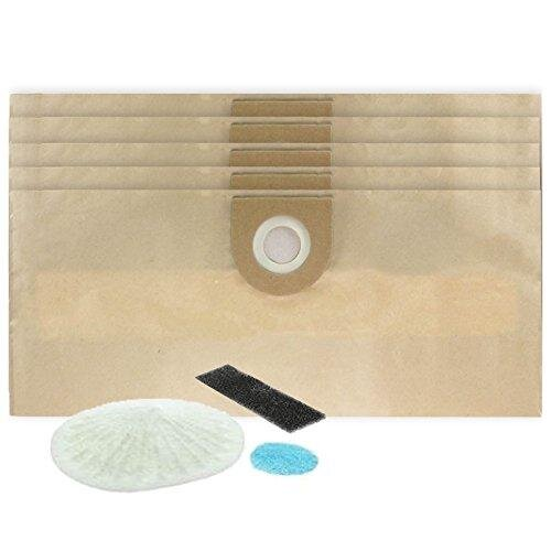 Vacuum Cleaner Bags compatible with VAX Rapide 5110 5120 5130 5140 VCC-08 VCC-02 2000 (Pack of 5) + Filters
