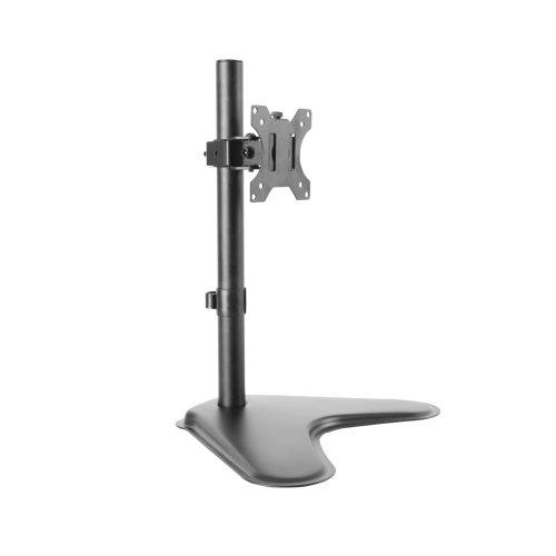 "Dihl Single Computer Monitor Arm Mount Desk Stand 13-27"" Screen LED TV Bracket"