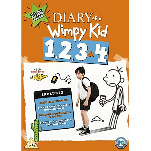 Diary Of A Wimpy Kid 1-4 DVD - 2017