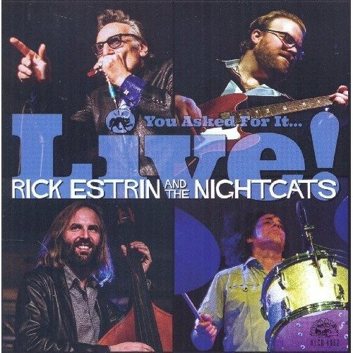 Rick Estrin and the Nightcats - You Asked for Itàlive! [CD]