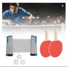 Instant Table Tennis w/ Two Bats Balls and Net-Ping Pong Travel