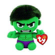 """Ty Marvel Hulk Beanie 7"""" Plush Toy"""