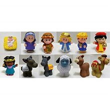 Little People Fisher Price Nativity Manger Replacement Figure Set