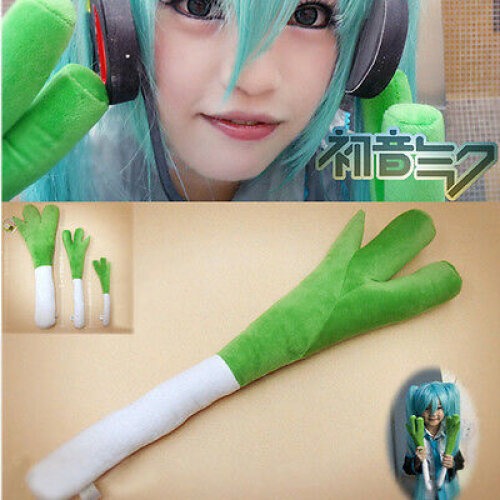 Miku Leek Onion Plush Toy Stuffed Doll Cosplay