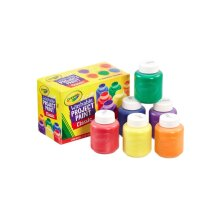 6pc Crayola Children's Washable Paint Set