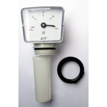 TANK FLOAT GAUGE 4 ft.  Oil or Water. Comes with a 1.1/2 Back-Nut