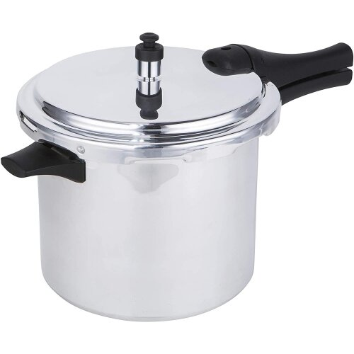 Prestige Aluminium Medium Dome Pressure Cooker 6 Litre