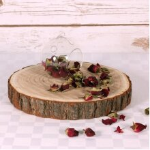 Large Wood Slices | 28-32cm Log Slices | Tree Trunk Wooden Discs Wedding Events