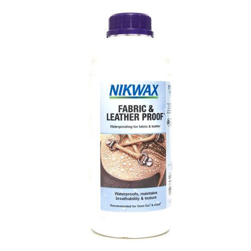 Nikwax Fabric & Leather Proof Refill 1L