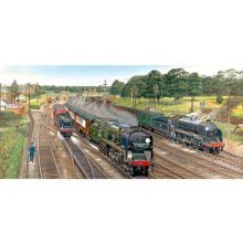 Jigsaw Puzzle - 636 Pieces - Panoramic - New Forest Junction