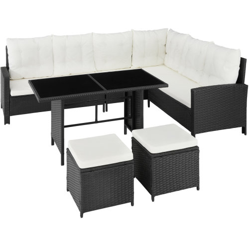 Barletta Rattan Set - black