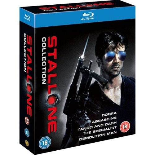 Stallone - Cobra / Assassins / Tango And Cash / The Specialist / Demolition Man Blu-Ray [2012]