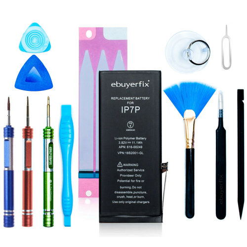 ebuyerfix® Genuine Battery Replacement for iPhone 7 1960mAh with Tool kit + Tape