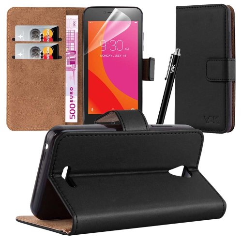 """For Lenovo A Plus (4.5"""") A1010 Leather Wallet Case"""