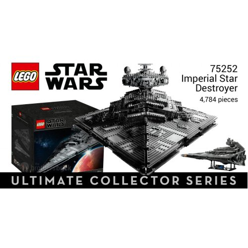 *NEW* Lego Star Wars Imperial Star Destroyer 75252