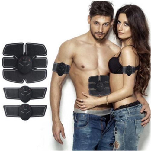 EMS Abdominal Muscle Stimulator Home Workout Fitness for Men & Women