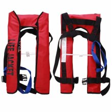 Adult automatic life jacket 150N life jacket buoyancy aid water sports