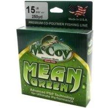 Mccoy Fishing Line Mean Green 250 Yard 25 Pound