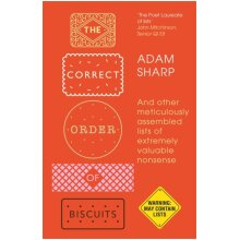 The Correct Order of Biscuits by Sharp & Adam - Used
