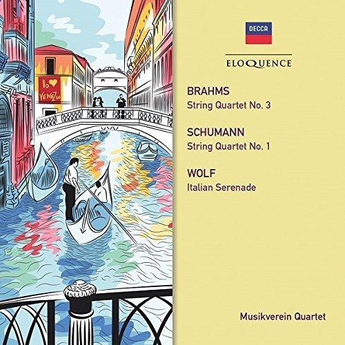 Musikverein Quartet - Brahms Schumann and Wolf Qtets [CD]