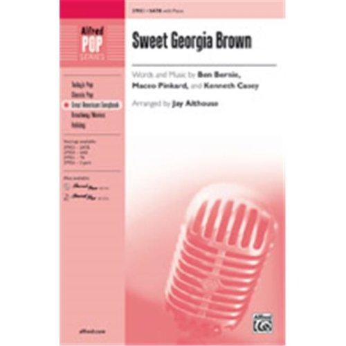 Alfred 00-37957 SWEET GEORGIA BROWN-STRX CD