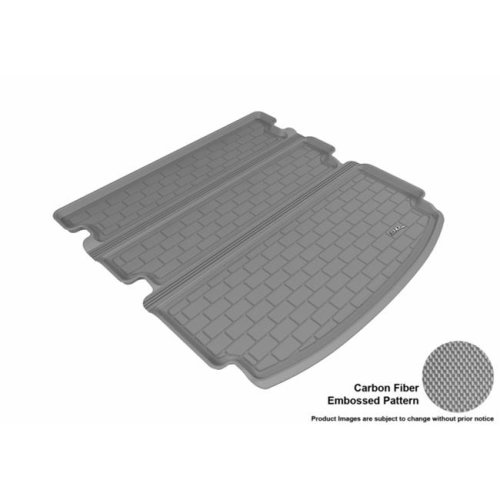M1LR0071301 3D MAXpider Cargo Custom Fit All-Weather Floor Mat for Select Land Rover LR2 Models Kagu Rubber Gray