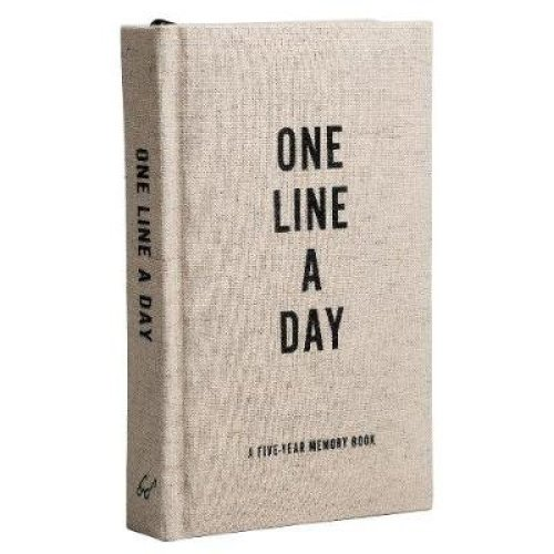 Canvas One Line A Day: A Five-Year Memory Journal