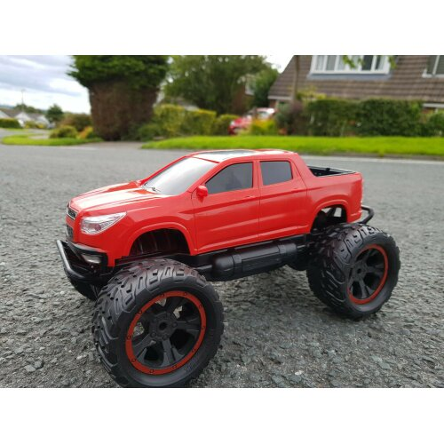 2.4ghz Off Road Dodge Monster Truck Rc Radio Remote Control Car 1/12