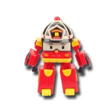 Silverlit Transforming Toy Robocar Poli Roy Red Action Figure Gift SL83170