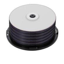 50PCS Blank Disc 215MIN 8X DVD+R DL 8.5GB Blank Disc Customizable DVD Disk